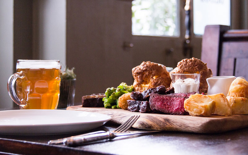 cosy sustainable pubs and restaurants London