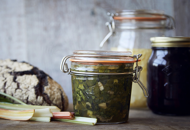 how to make fermented chard at home and what to do with it