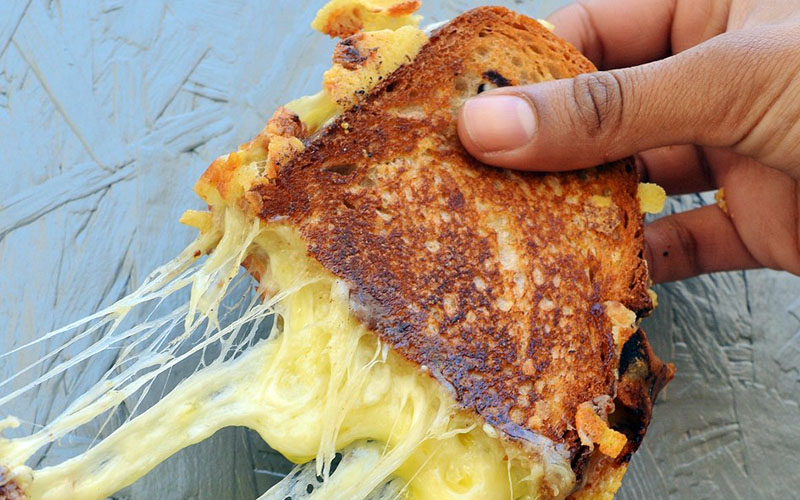 Grill My Cheese toastie