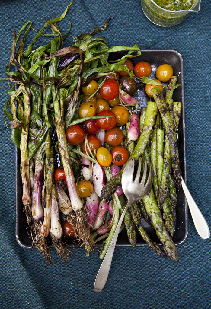 how to have an ethical bbq veggies