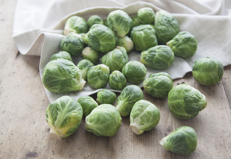 organic brussels sprouts