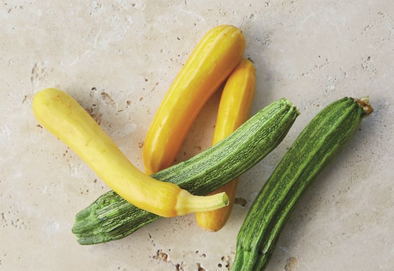 mixed courgettes at Farmdrop