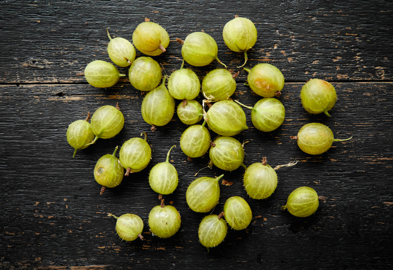 Gooseberries - Which British Fruit And Vegetables Are In Season In July?