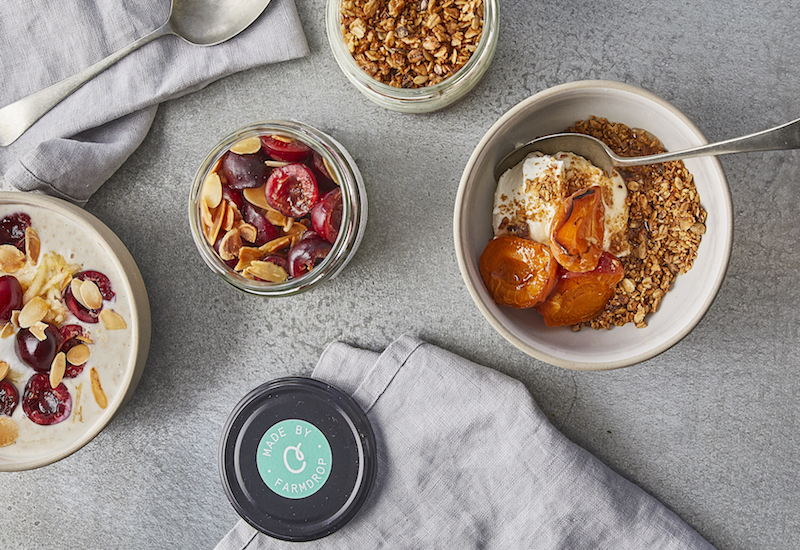 breakfast apricot yoghurt healthy meal delivery in london