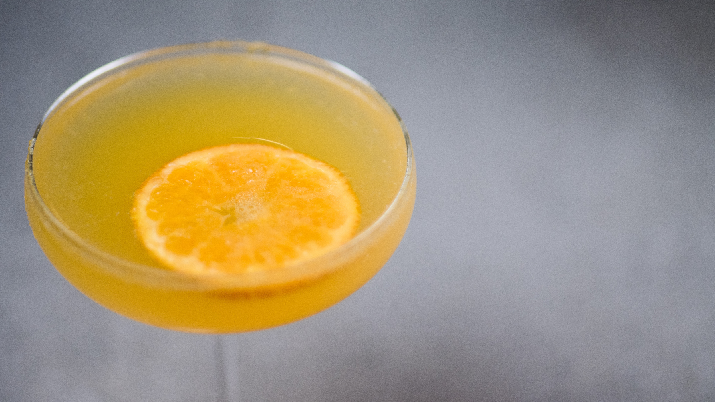 clementine fizz cocktail